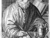 L0014825 Portrait of Hippocrates from Linden, Magni Hippocratis.